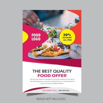 Progettazione brochure ristorante gastronomico