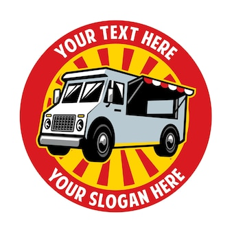 Design distintivo del camion di cibo