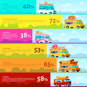 Food truck infografica