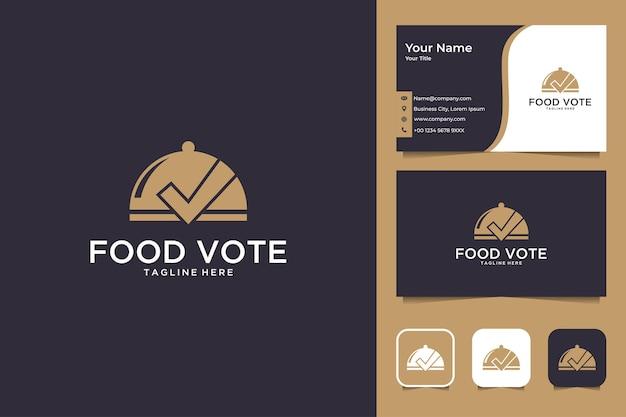 Logo design e biglietto da visita per il voto alimentare