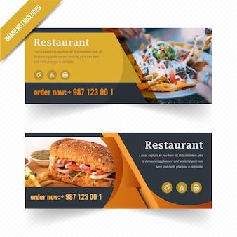 Banner web alimentare se per ristorante