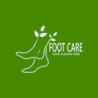 Icona e simbolo della salute dei piedi
