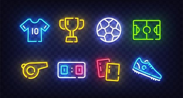 Il neon del calcio canta