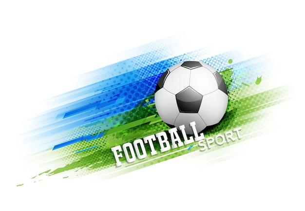 Poster del modello di torneo di calcio o di calcio o banner disegno vettoriale.