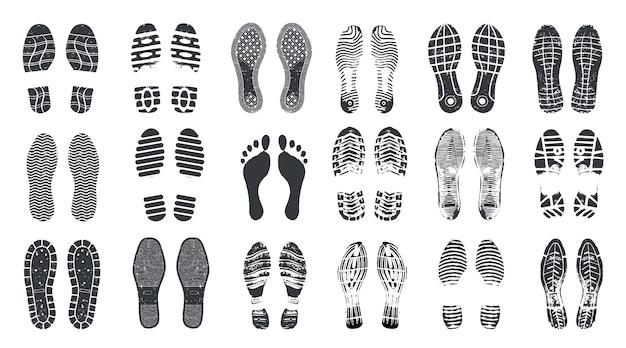 Set di passaggi di impronta