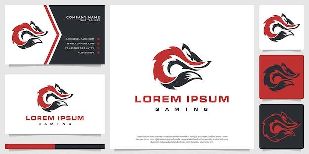 Logo fox e sport, formando le iniziali c