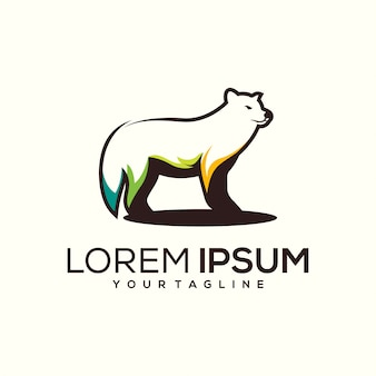 Logo design fox