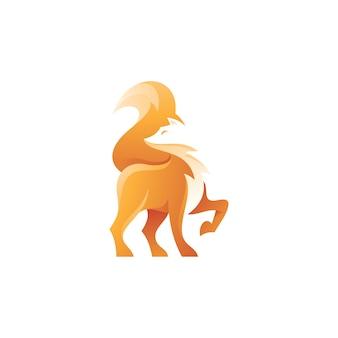 Fox logo illustrazione