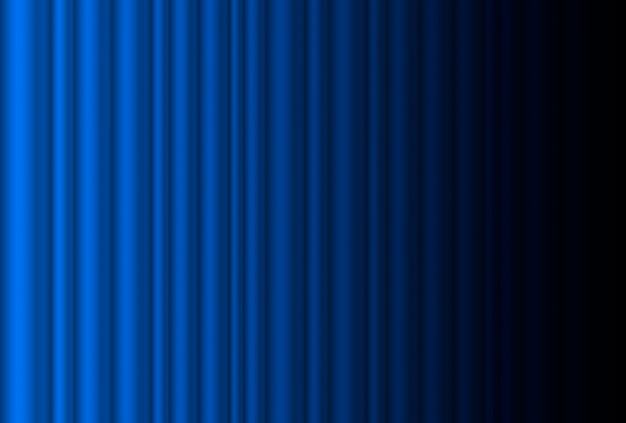 Frammento sipario blu scuro