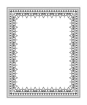 Cornice nella tradizione orientale. stilizzato