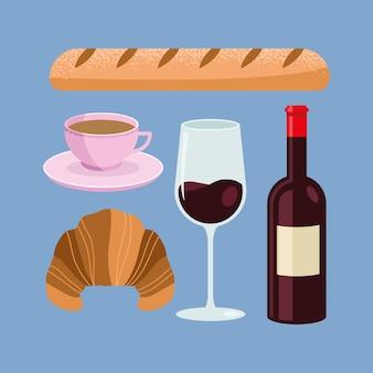 Icone del cibo in francia
