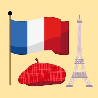 Icone tradizionali della francia