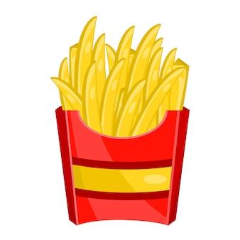 Confezione di patatine fritte