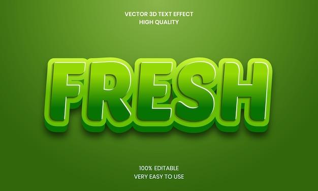Nuovo effetto di testo modificabile 3d premium vector