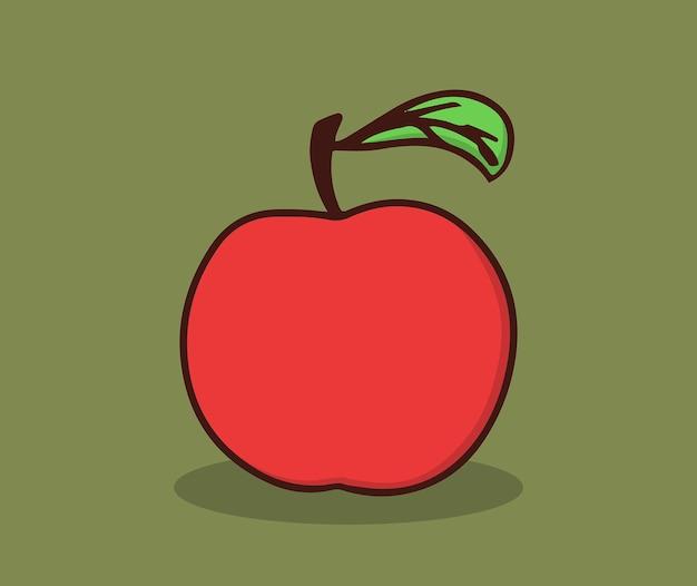 Frutta fresca di mele quest'estate