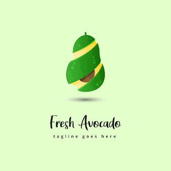 Illustrazione di avocado fresco