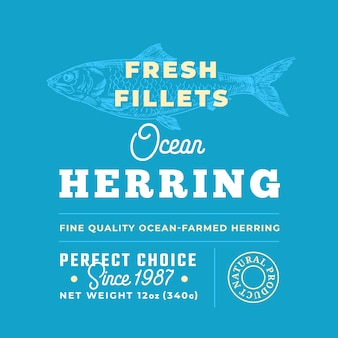 Marchio di qualità premium di filetti freschi