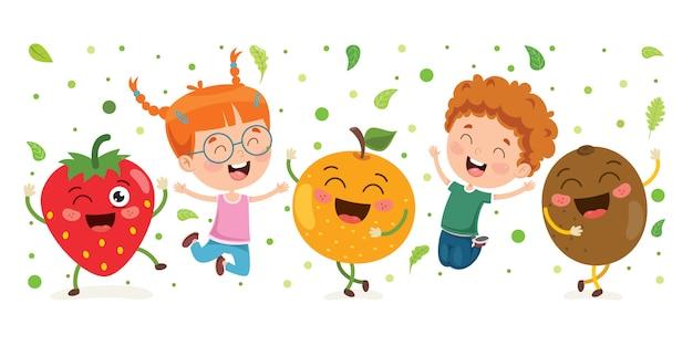 Frutta fresca per mangiare sano