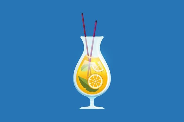 Fresh juice summer elements 2021