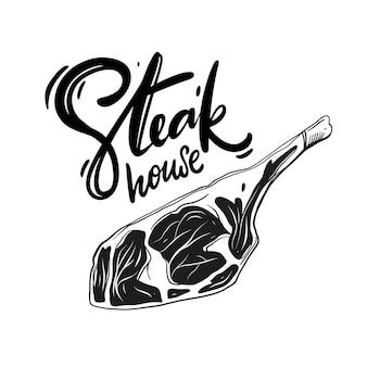 Illustrazione stabilita del disegno della mano della carne fresca