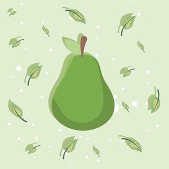 Frutta fresca di pera