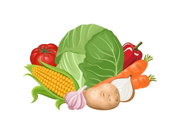 Verdure fresche.