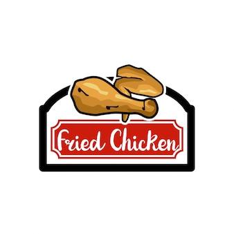 Logo di pollo fritto
