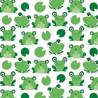 Disegno del modello di rana