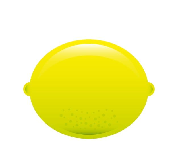 Progettazione di frutta su sfondo bianco illustrazione vettoriale