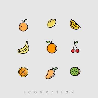 Icona di frutta