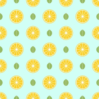 Modello di frutta, sfondo estivo colorato. illustrazione di stile elegante e di lusso