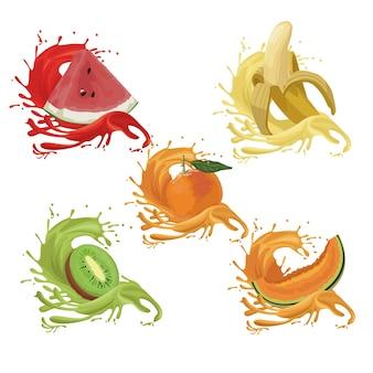 Schizzi di frutta