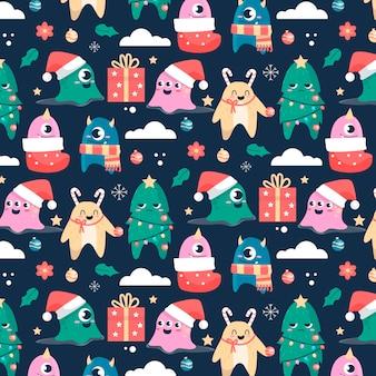 Divertente motivo natalizio