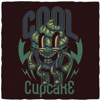 Cupcake divertente