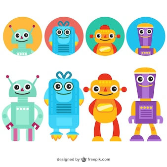 Robots divertenti avatars
