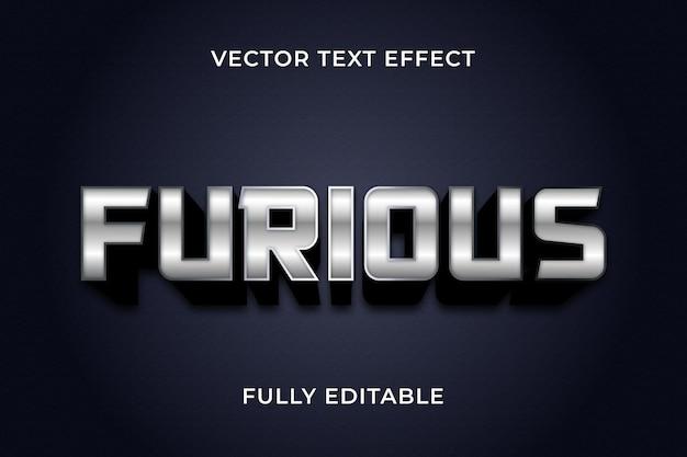 Furioustext effetto photoshop