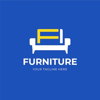 Modello di logo di mobili