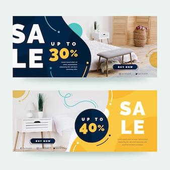 Banner di vendita di mobili