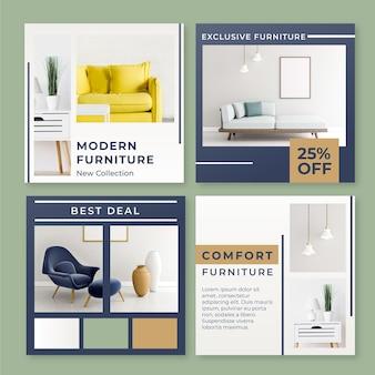 Vendita di mobili ig post collezione con foto