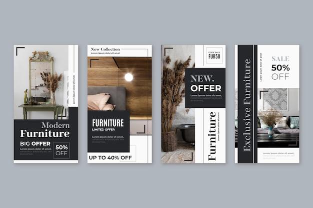 Vendita di mobili ig stories collection