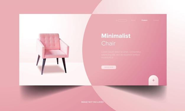 Modello di banner web di mobili