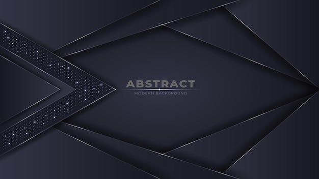 Futuristico astratto scuro moderno con effetto luce