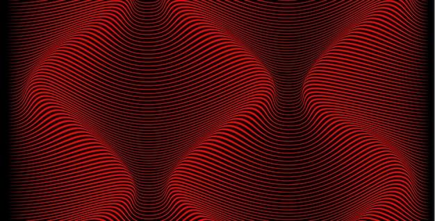 Futuristico paesaggio volumetrico. vista dall'alto della topologia dello spazio con colline e valli dall'alto. giochi colorati di spazio. l'espansione strisciante del mare dal liquido si sposta verso l'infinito.