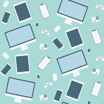 Pattern di sfondo del gadget