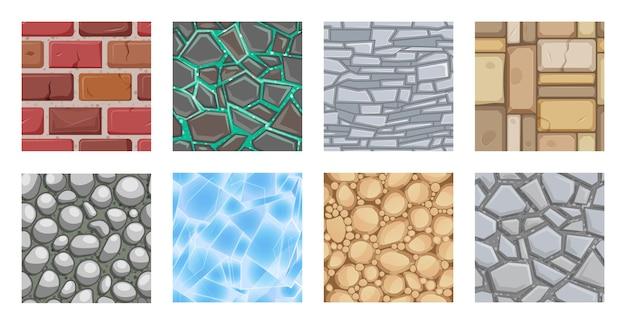 Texture del terreno di gioco per la piattaforma dell'interfaccia utente