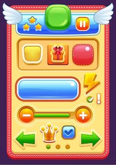 Elementi dell'interfaccia di gioco