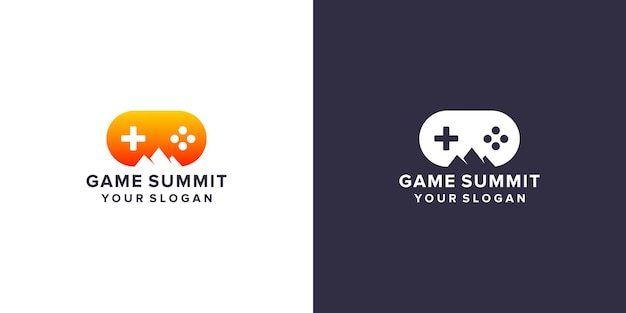Design del logo del vertice di gioco