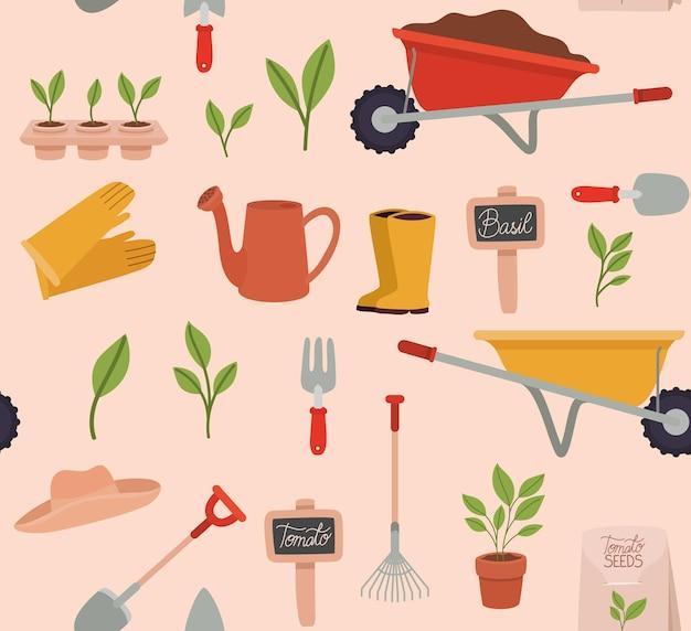 Set di attrezzi da giardinaggio