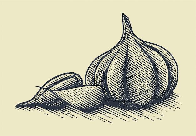 Incisione all'aglio