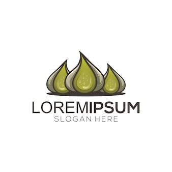 Logo vettoriale di aglio